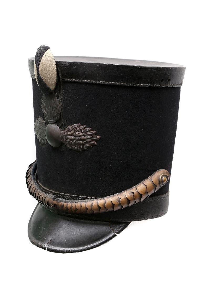 1808 RUSSIAN IMPERIAL SHAKO GRENADIER HAT