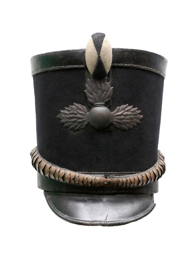 1808 RUSSIAN IMPERIAL SHAKO GRENADIER HAT - 2