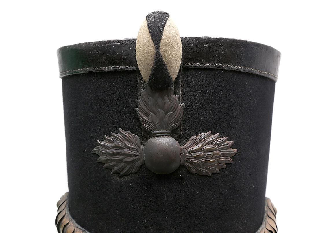 1808 RUSSIAN IMPERIAL SHAKO GRENADIER HAT - 4