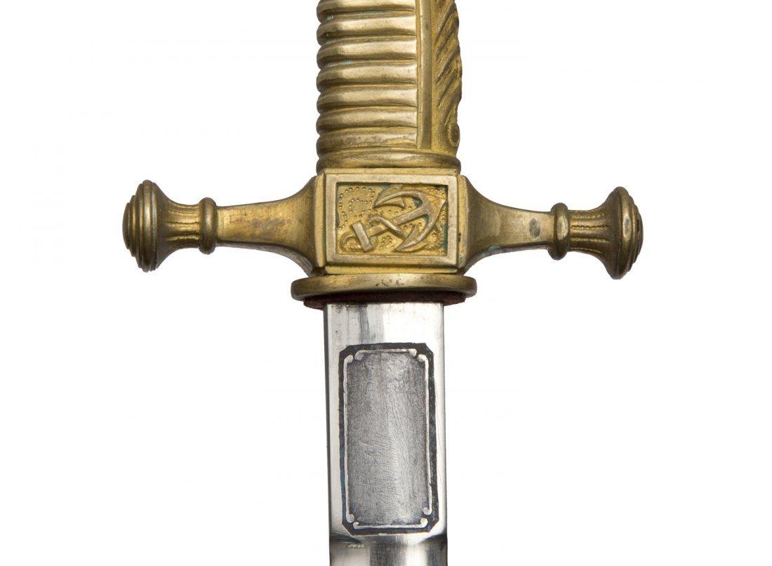 GERMAN NAVAL APPLICANTEN (CADET) BAYONET DAGGER, M 1872 - 9