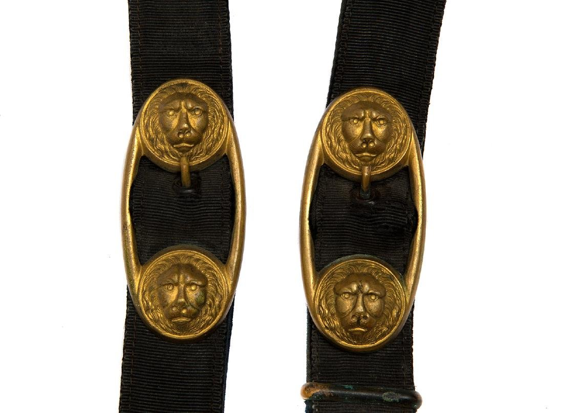 GERMAN NAVAL OFFICER DAGGER, MOD 1929 KNOT AND HANGERS - 7