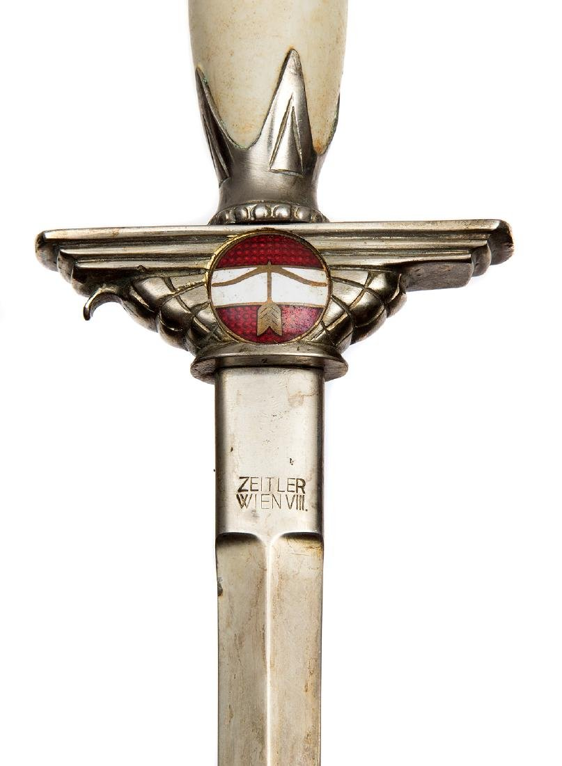 AUSTRIAN AIR DEFENSE UNITS OFFICER DAGGER, MOD. 1936 - 6
