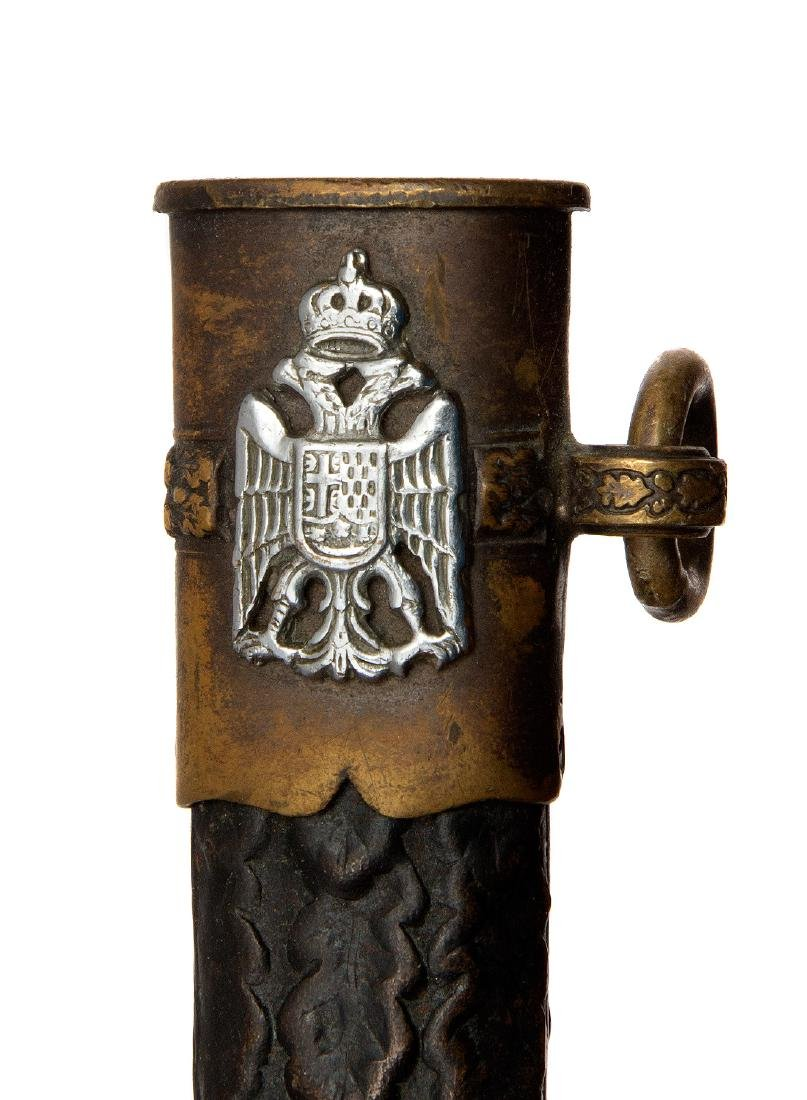 YUGOSLAVIAN ARMY OFFICER DAGGER, MOD. 1939 - 7