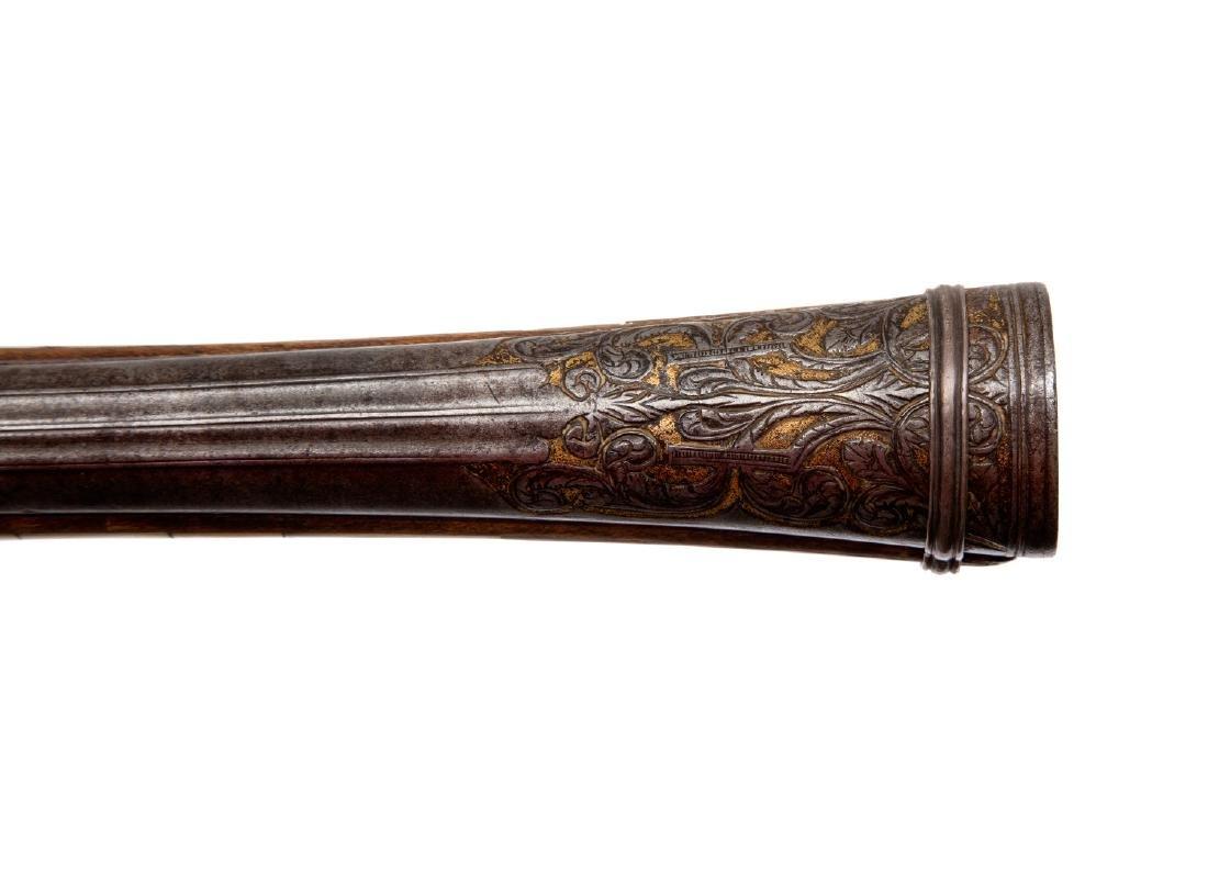 GEORGIAN (CAUCASIAN) BLUNDERBUSS WITH INLAY, 19TH C. - 8