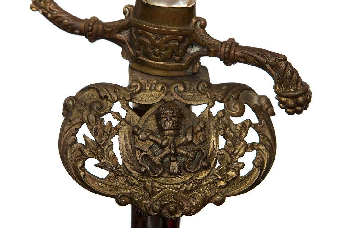 DIPLOMATIC OFFICER SWORD, VATICAN, 19TH C. - 6