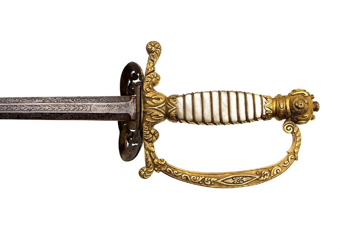 FIELD OFFICER IN FULL UNIFORM SWORD, 19th C. - 4