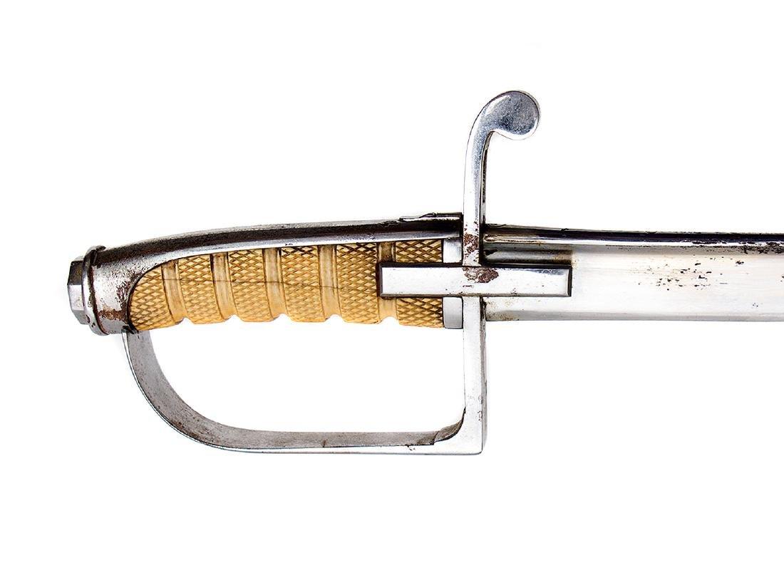 A RARE GENERAL OFFICERS SABRE SWORD, MOD. 1855, ITALIAN - 5