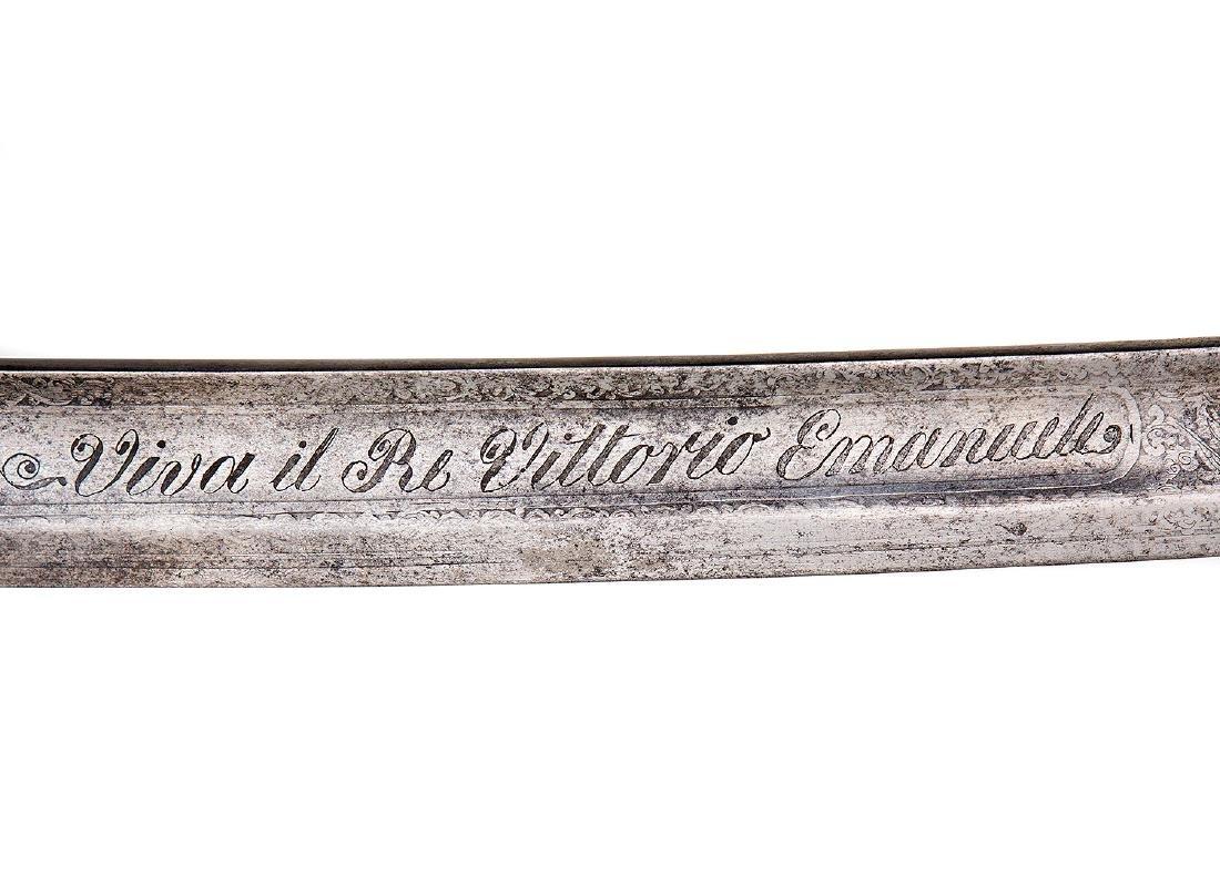 ITALIAN ARTILLERY SWORD SABER - 10