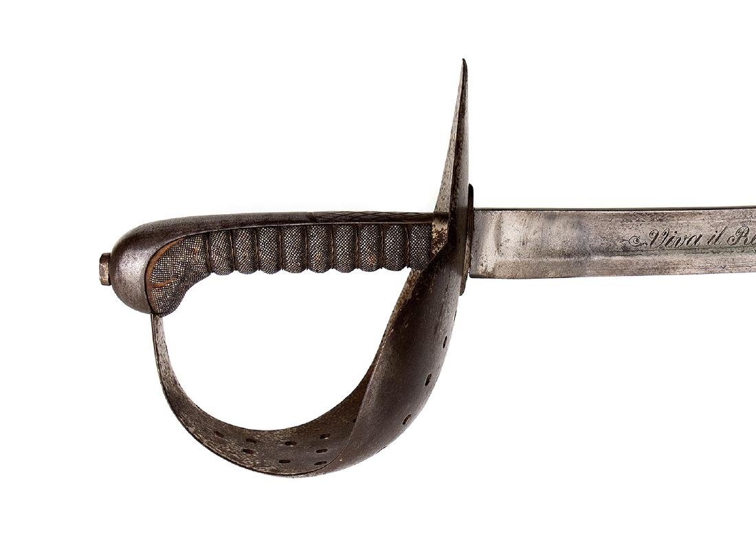 ITALIAN ARTILLERY SWORD SABER - 5
