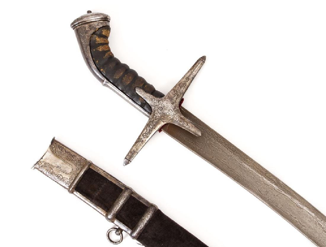 EXCELLENT HUNGARIAN SWORD, 18TH C. - 7