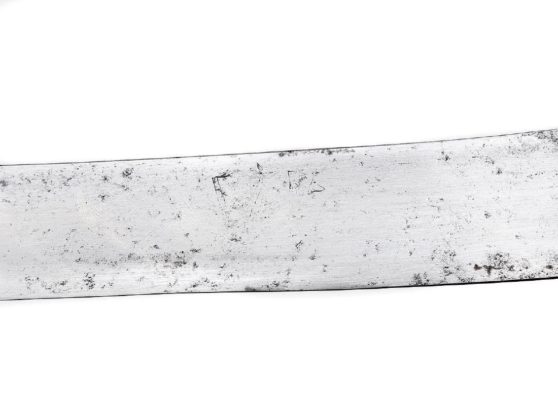 RARE SILVER MOUNTED MAGNAT SABER SWORD, 18TH CEN. - 6
