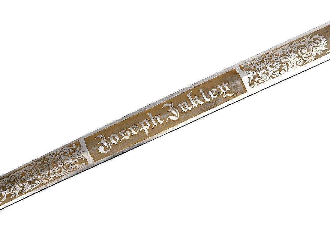 ANTIQUE ORNATE MASONIC KNIGHTS TEMPLAR SWORD - 10
