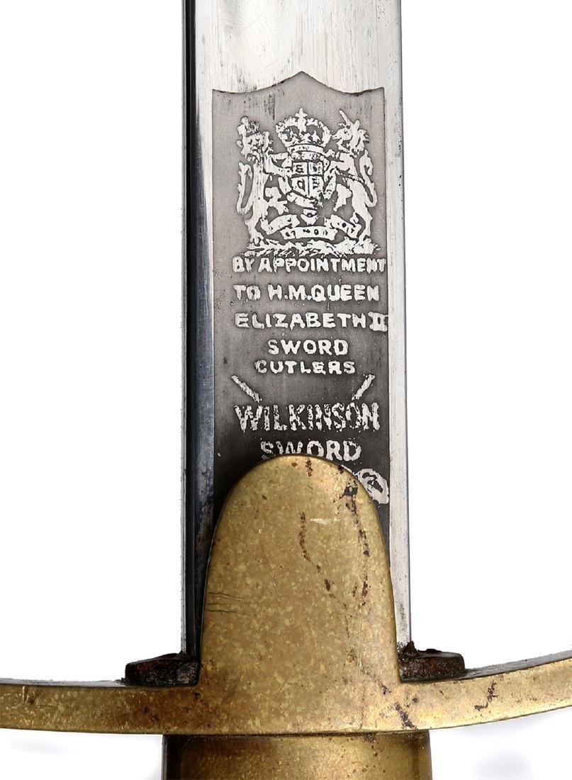 19TH CEN. BRITISH POLICE SABER - 6