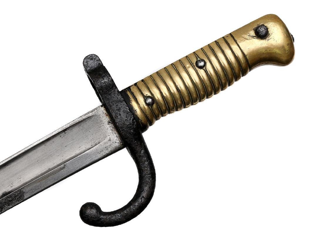 CHASSEPOT BAYONET AND AMERICAN KNIFE - 3