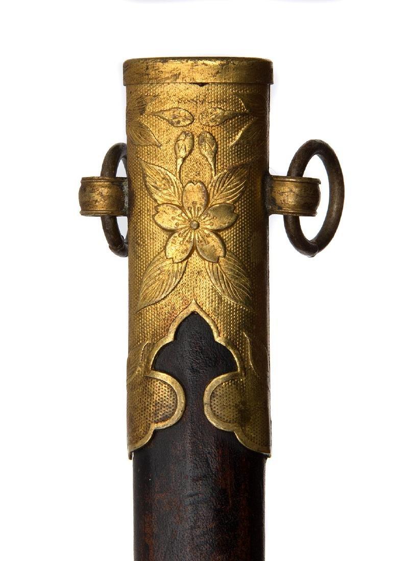 M. 1883 GILDED JAPANESE NAVAL DAGGER - 8