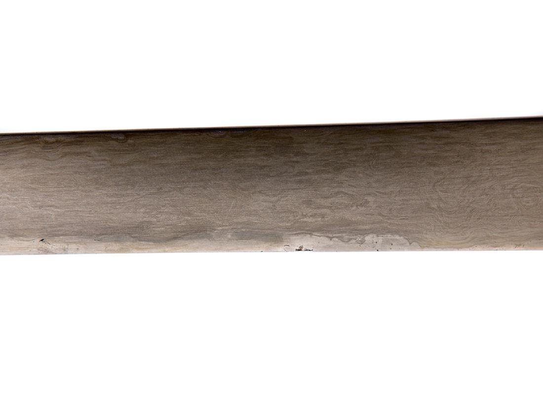 FINE SILVER MOUNTED CENTRAL ASIAN KARD DAGGER, 19TH C. - 9