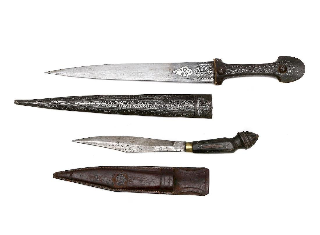 SET OF PERSIAN AND SPANISH DAGGERS - 2