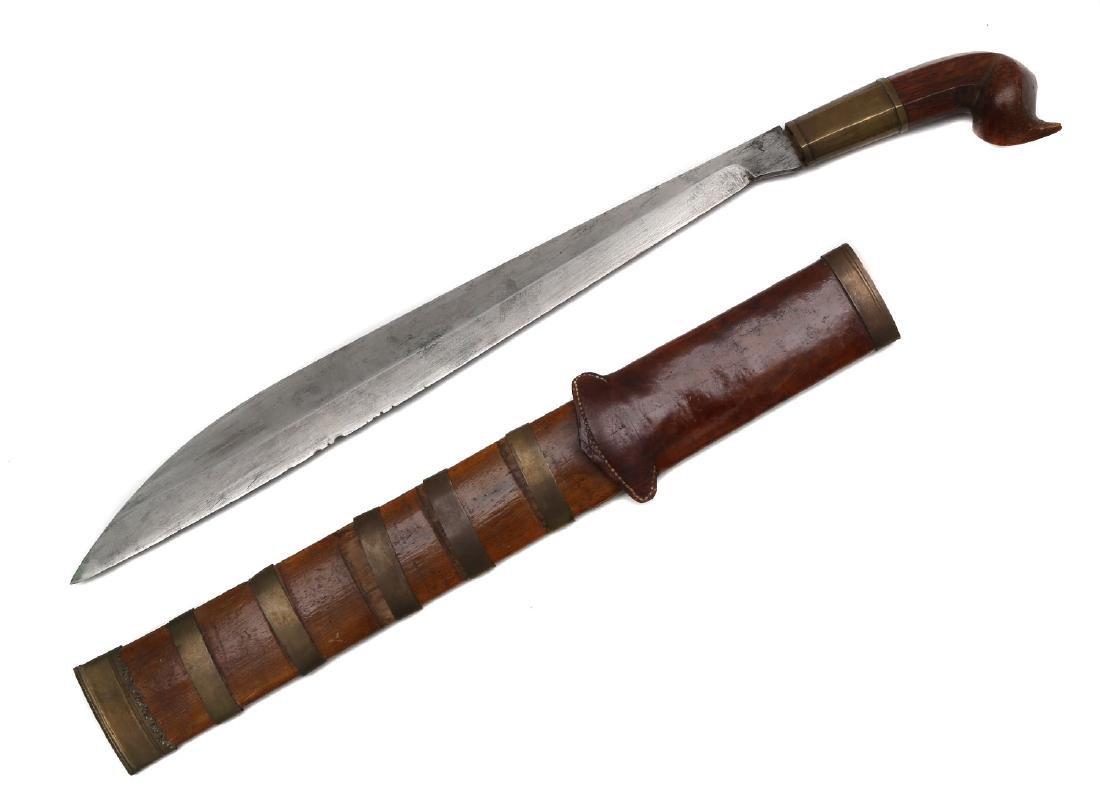 OLD PHILIPPINE VISAYAN TENEGRE SWORD - 2