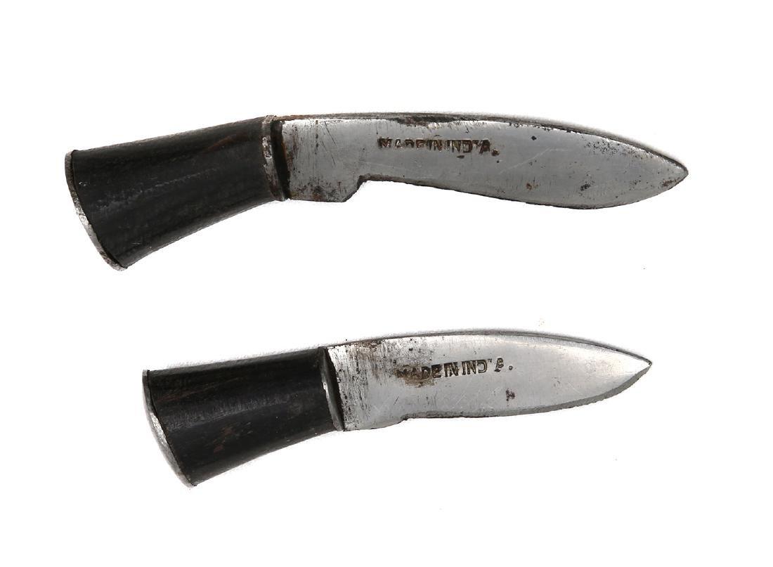 SMALL KUKRI KNIFE IN LEATHER SHEATH - 4