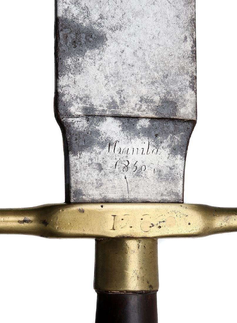 1860 SPANISH SIDERAM MARKED MANILA - 7