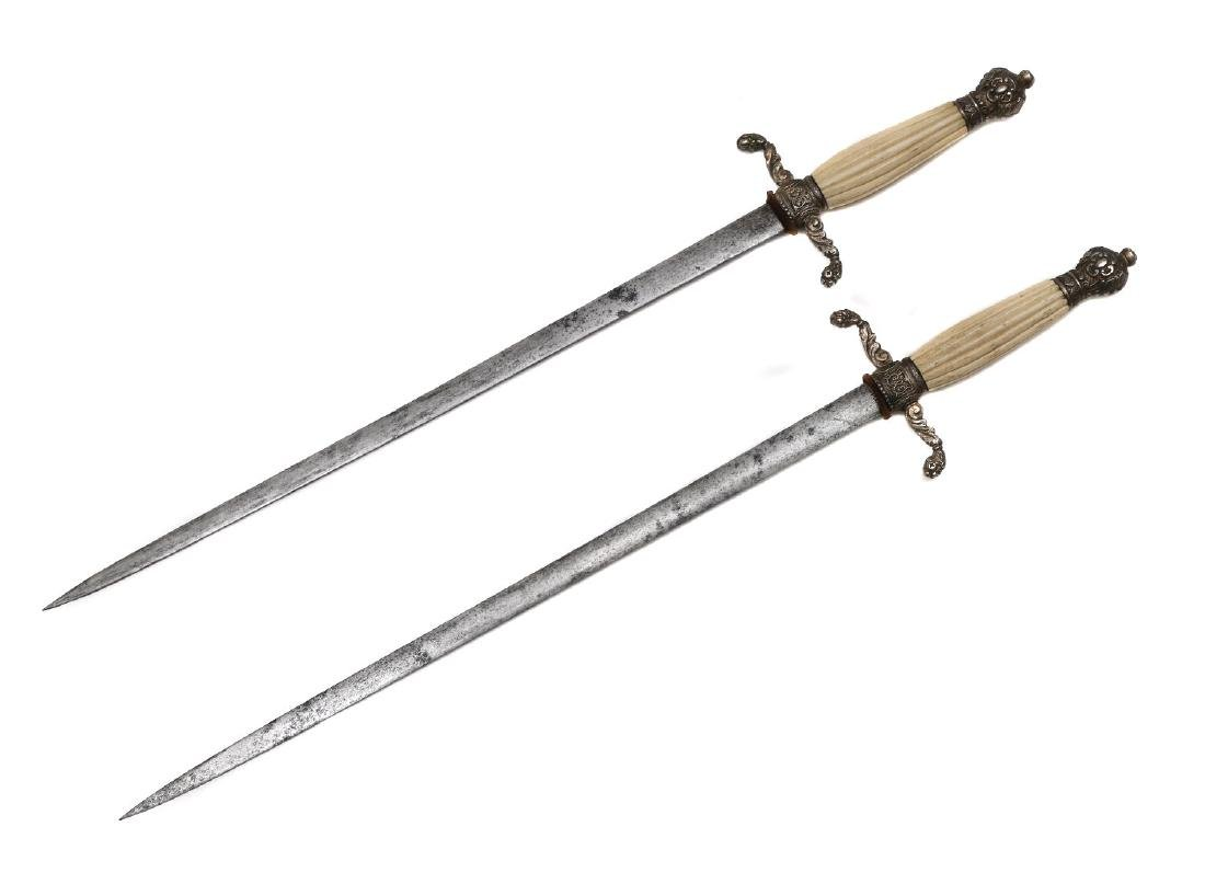 SET OF TWO 19TH CEN. DAGGER OR DIRKS - 2
