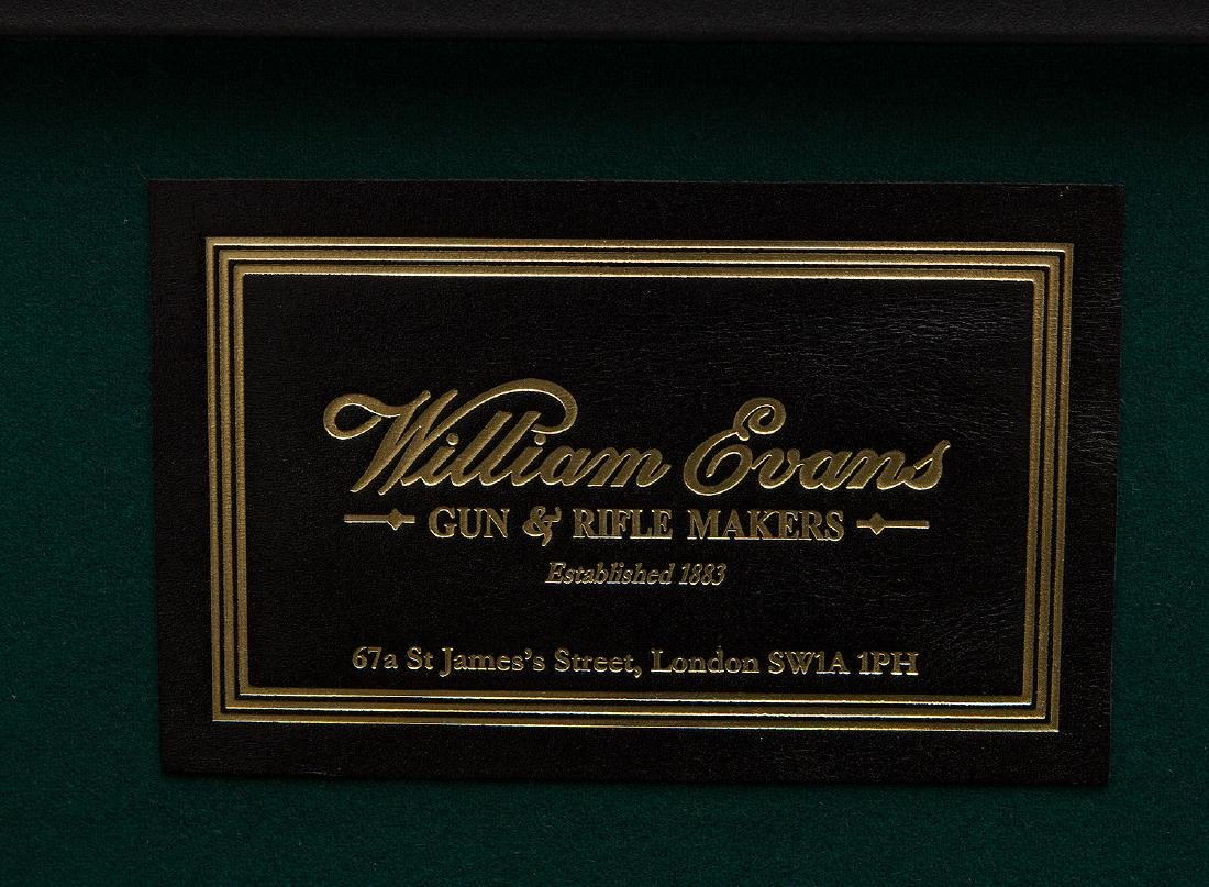 CUSTOM MADE WILLIAM EVANS SHOTGUN CLEANING CASE - 4