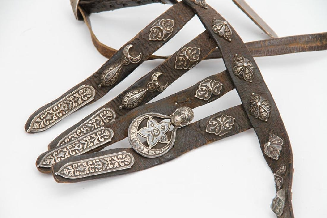 CAUCASIAN BELT WITH SILVER MOUNTS - 2