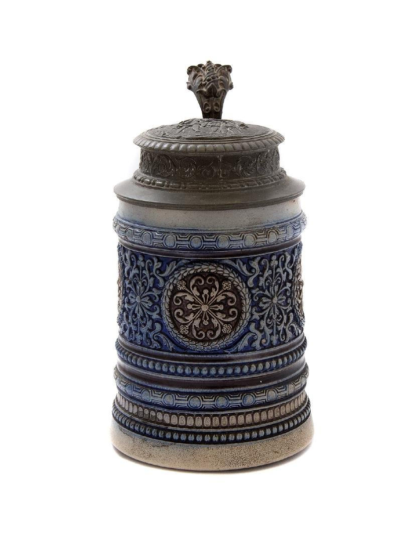 SWISS BEER STEIN WITH MUSIC BOX