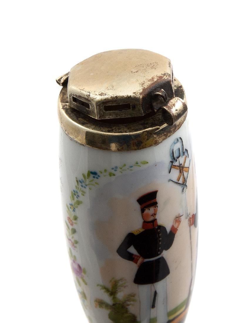 EARLY REGIMENTAL HAND PAINTED PIPE LÃœNEBURG 1856 - 5