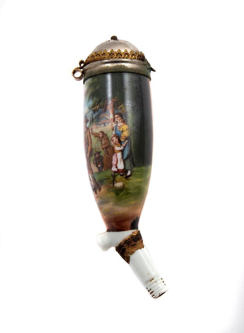 PIPE BOWL, SHOWING TYROLEAN AUSTRIAN FOLK HERO, 1880 - 2