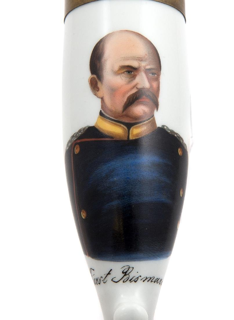 EARLY PIPE BOWL WITH PORTRAIT OF OTTO VON BISMARCK, C. - 5