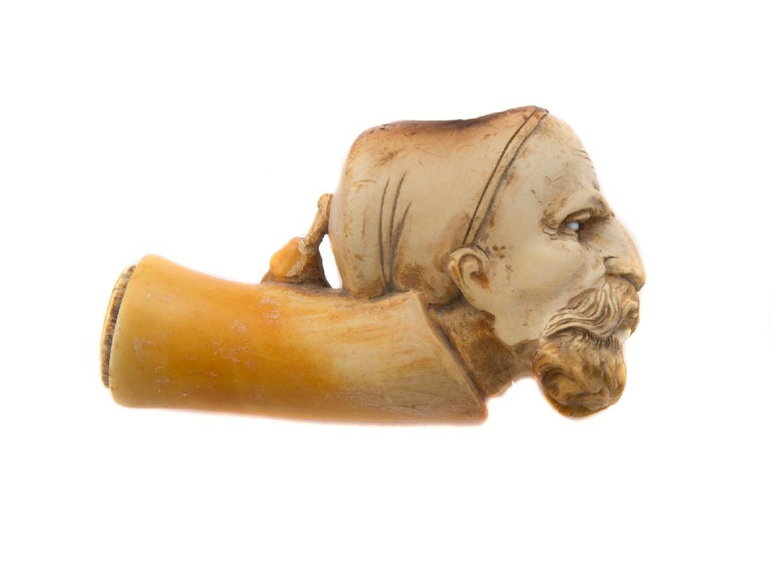 GREEK PIPE BOWL, 1820 REVOLUTION AGAINST TURKS - 2