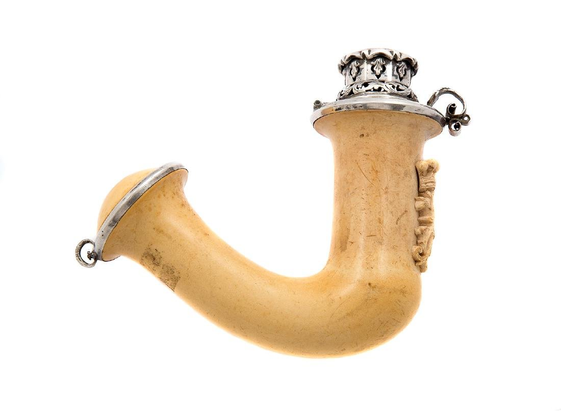 AUSTRIAN MEERSCHAUM PIPE BOWL WITH INITIALS, CA. 1870 - 2