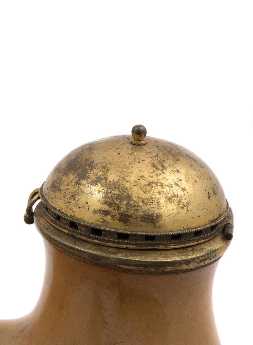 A MASSIVE MEERSCHAUM PIPE BOWL, CA. 1860 - 3