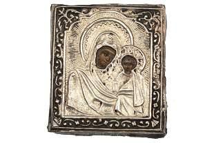 RUSSIAN ICON MOTHER OF GOD KAZANSKAYA