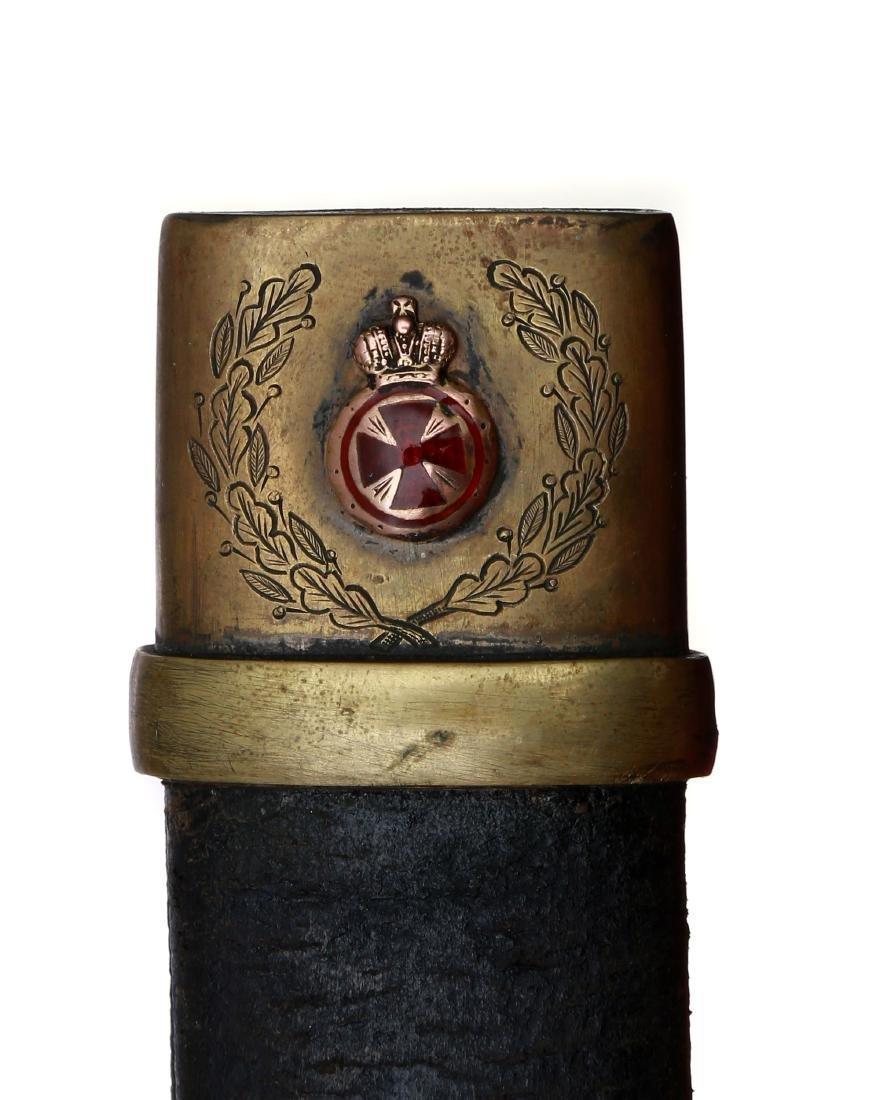 RUSSIAN IMPERIAL DRAGOON SHASHKA WITH ST ANN - 7
