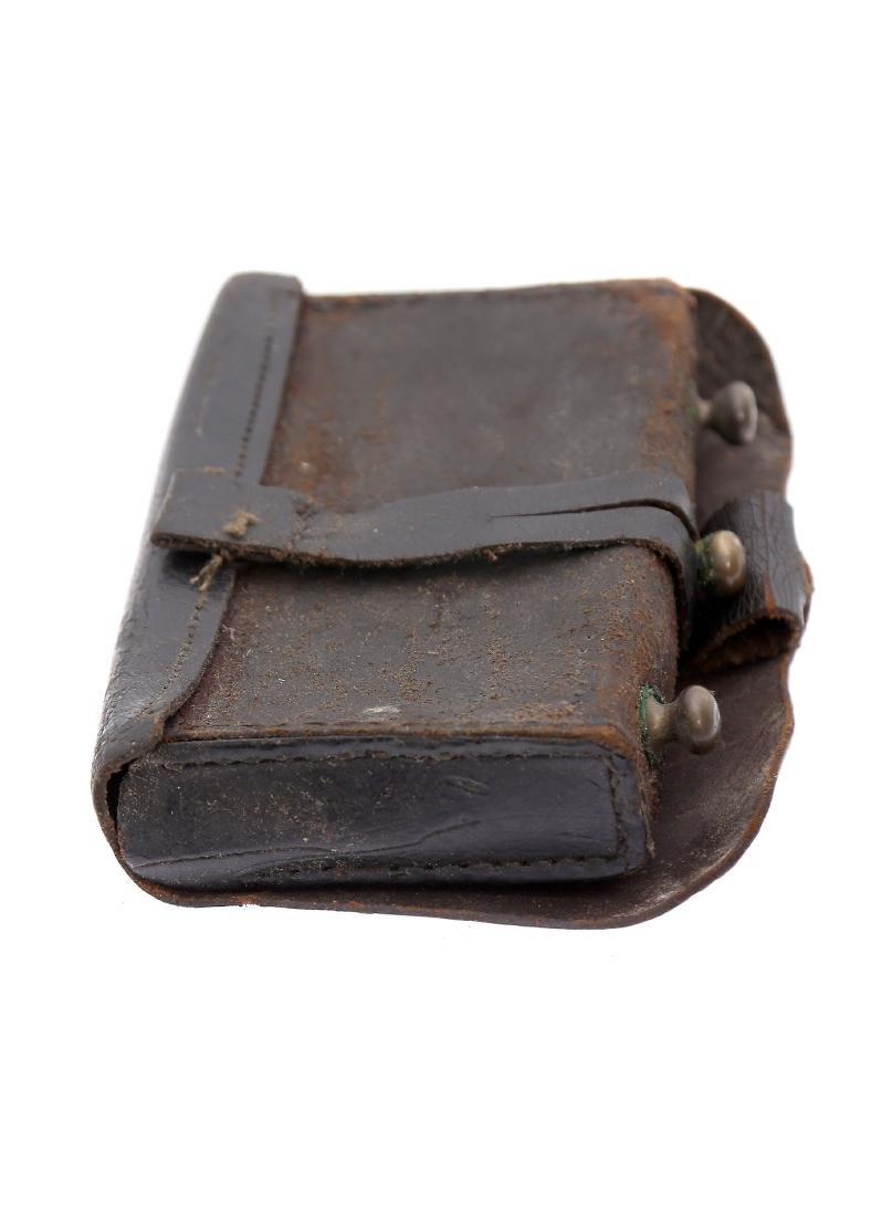 LEATHER CARTRIDGE BOX - 3
