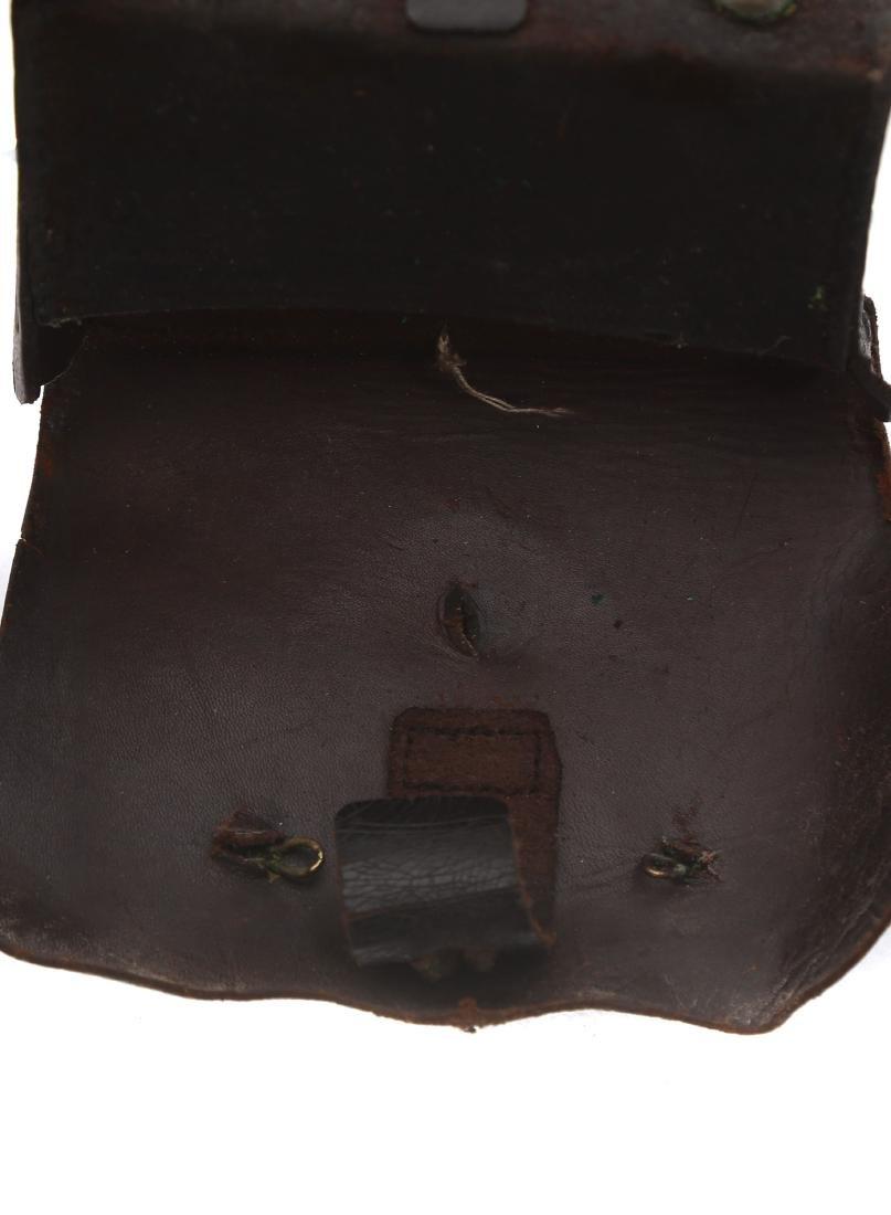 LEATHER CARTRIDGE BOX - 4