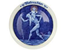 ROSENTHALE WEIHNACHTSTELLER 1919 PLATE