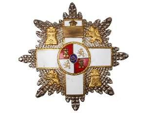 SPANISH ORDER OF MILITARY MERIT GRAND STAR