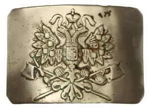 A RUSSIAN IMPERIAL FIRE BRIGADE BELT BUCKLE