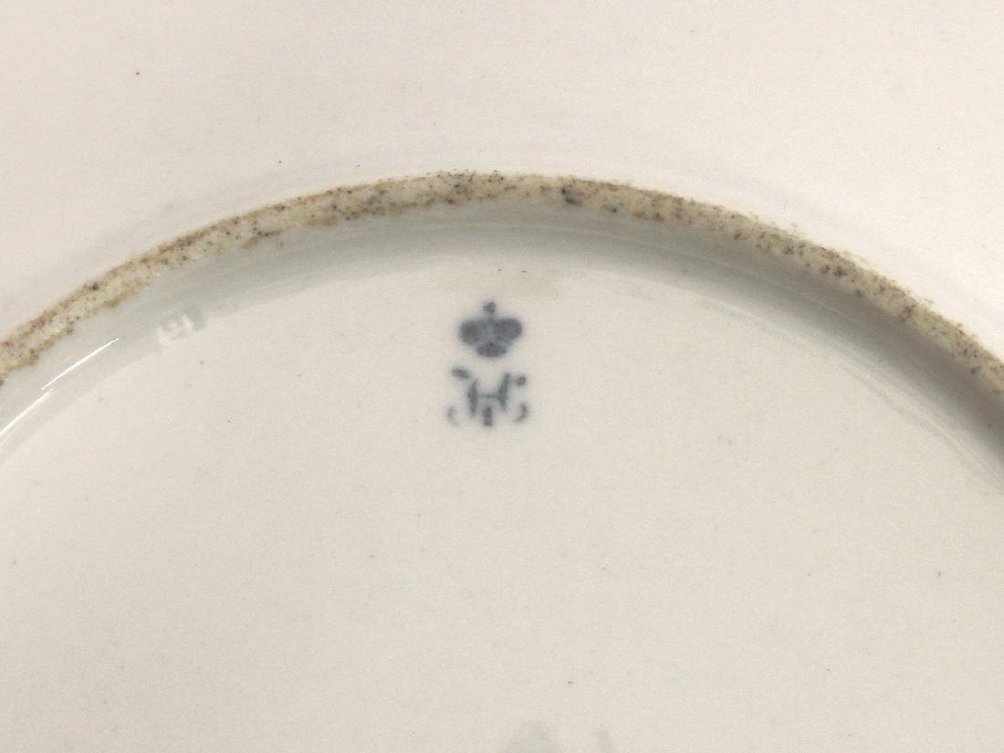 RUSSIAN IMPERIAL PORCELAIN PLATE FOR ALEXANDER I - 3