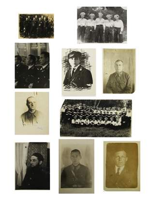 A SET OF 10 RUSSIAN SOVIET MILITARY PHOTOGRAPHS