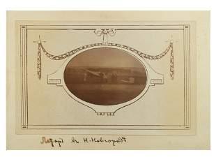 A RARE PHOTOGRAPH OF RUSSIAN PLAIN Ca 1910