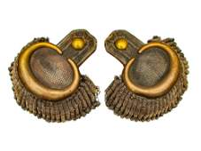 A GERMAN (BAVARIAN) GENERAL MAJOR EPAULETS