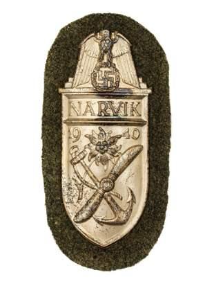 A GERMAN WW2 NARVIK SHIELD HEER