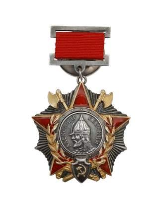 A SOVIET ORDER OF ALEXANDER NAVSKIY