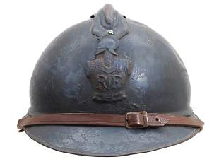 A FRENCH ADRIAN HELMET M1915, ENGINEERS / SAPEURS