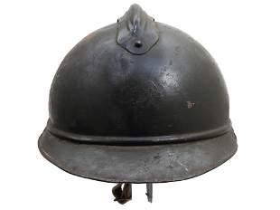 A FRENCH ARMY ADRIAN HELMET M1915