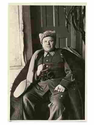 A PHOTO OF SOVIET COLONEL-GENERAL I. LUDNIKOV